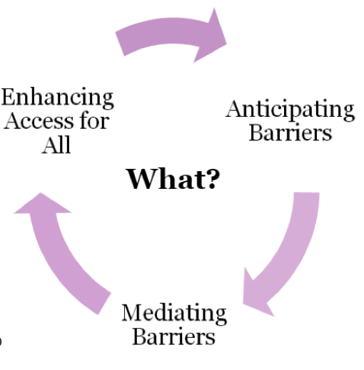 The 'What' in practicing Accessible Education